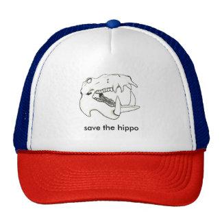Save the Hippo Cap