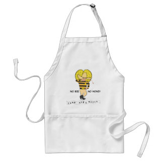 Save the Honey Bee Logo Aprons