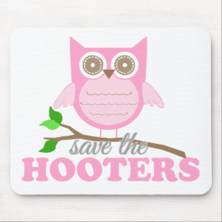 Save the Hooters Mouse Pad
