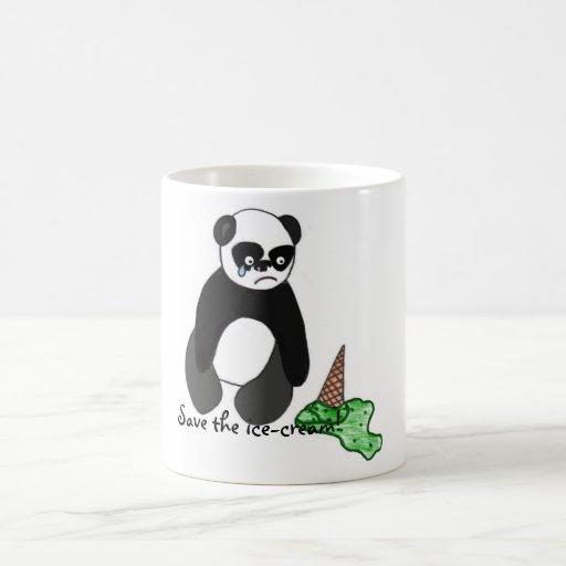 Save the ice-cream Mug