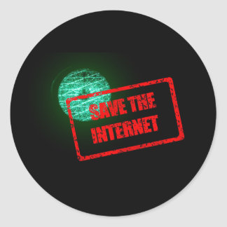 Save the Internet Stickers