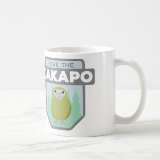 Save the Kakapo Coffee Mug