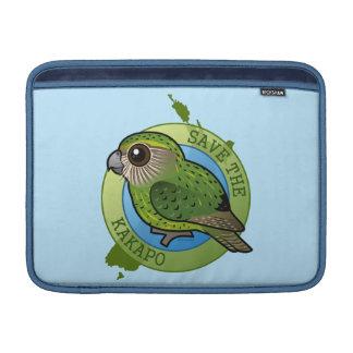 Save the Kakapo Sleeve For MacBook Air