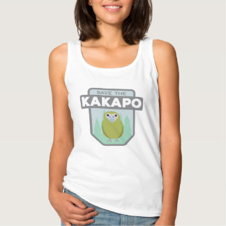 Save The Kakapo Women's Tank Top