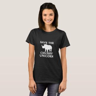 Save The Little Chubby Unicorn Rhino Tusk Unisex T-Shirt