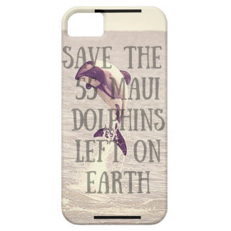 Save the Maui Dolphin-Phone Case Barely There iPhone 5 Case