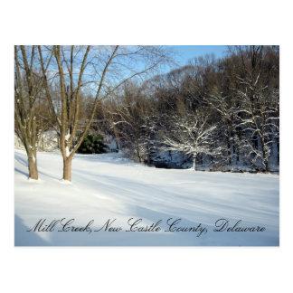 Save the Mill Creek Flood Plain Winter Postcard