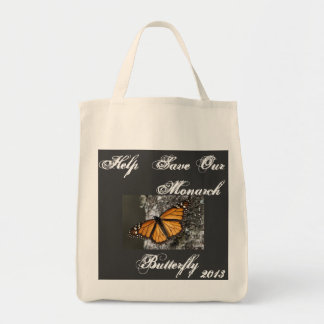 Save the Monarch Butterfly Tote Bag