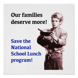 Save the National School Lunch Program