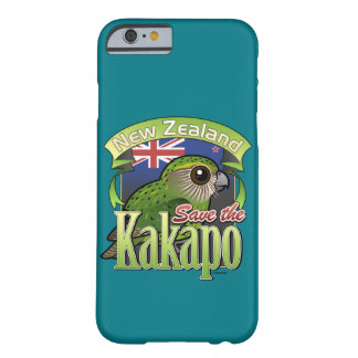 Save the New Zealand Kakapo Barely There iPhone 6 Case