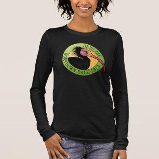 Save the Northern Bald Ibis Long Sleeve T-Shirt