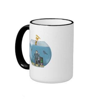 Save The Office Worker! Ringer Mug