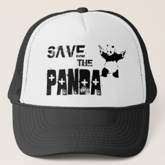 Save the Panda Trucker Cap