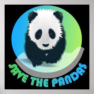 Save the Pandas Poster