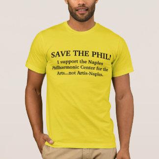 Save the PHIL! men's tee shirt