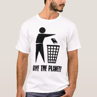 Save the Planet! (Clear) T-Shirt