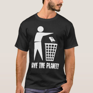 Save the Planet! (Dark) T-Shirt