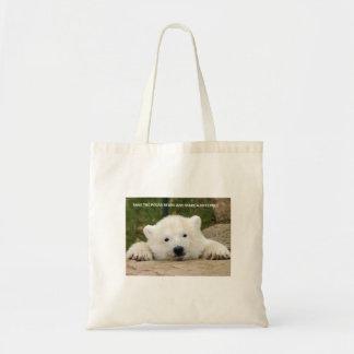 Save the Polar Bears Bags