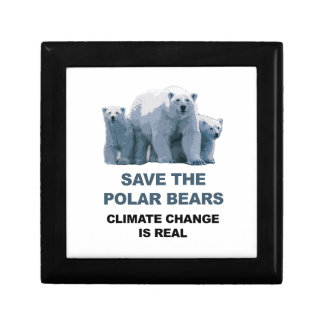 Save the Polar Bears Gift Box
