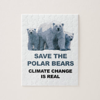 Save the Polar Bears Jigsaw Puzzle