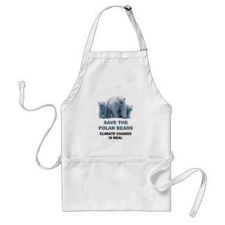 Save the Polar Bears Standard Apron