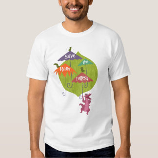 Save the rain forest! tee shirt