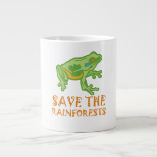 save-the-rainforests Tree Frog Large Coffee Mug