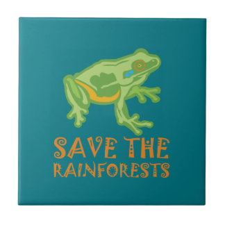 save-the-rainforests Tree Frog Tile