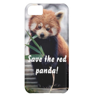Save the Red Panda iPhone Case