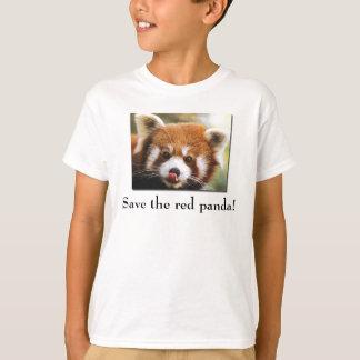 Save the Red Panda Kid's T-Shirt