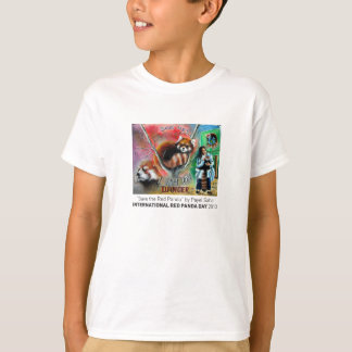 """Save the Red Panda"" Kid's Tee"