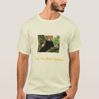 Save The Red Pandas T-Shirt