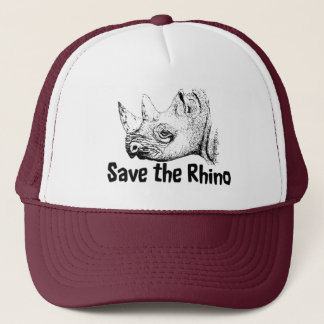 Save the Rhino Safari Cap