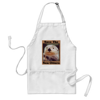 Save the Sea Otters Aprons