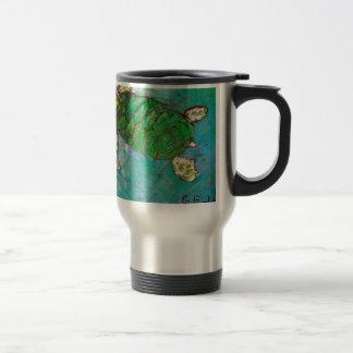 Save The Sea Turtle's Coffee Mug