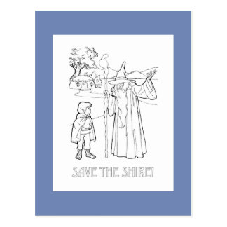 Save the Shire (TM) Postcard