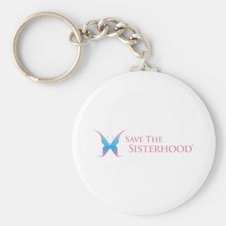 Save The Sisterhood Gear Key Ring
