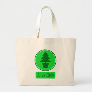 Save The Trees-Conservation & Recycling Pays Jumbo Tote Bag