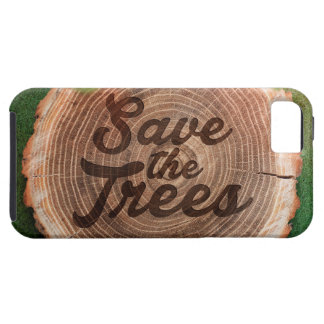 Save the trees Inspirational Design iPhone 5 Case