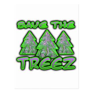 Save the Treez Postcard