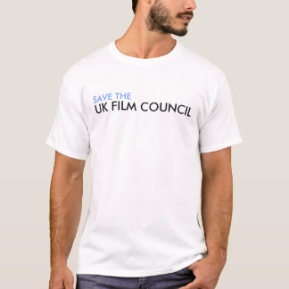 Save the UK Film Council t-shirt