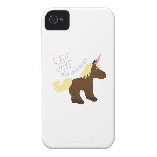 Save the Unicorns iPhone 4 Cases
