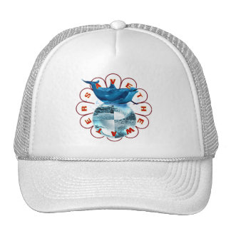 Save The Water Mesh Hats