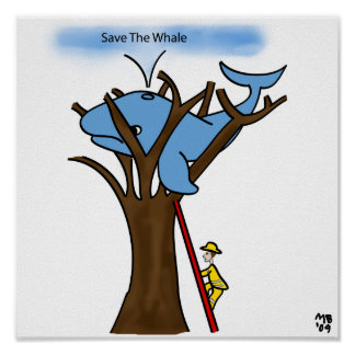 Save The Whale! Poster