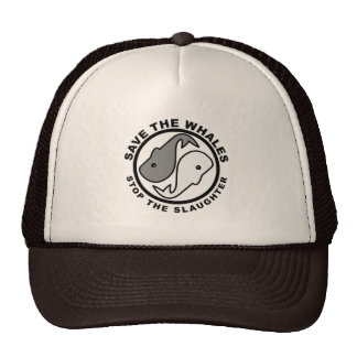Save the Whales - Animal Rights Mesh Hat