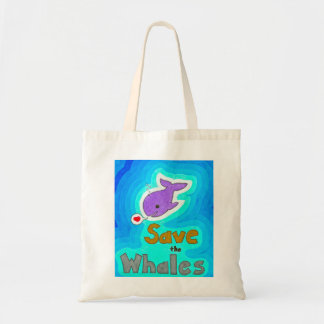 Save the Whales Bag