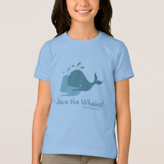 Save the Whales! Kids Tee