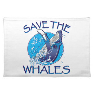 Save the Whales Placemat