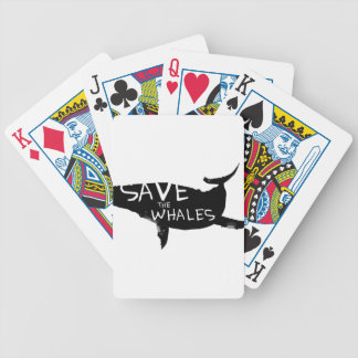 Save the Whales Poker Deck