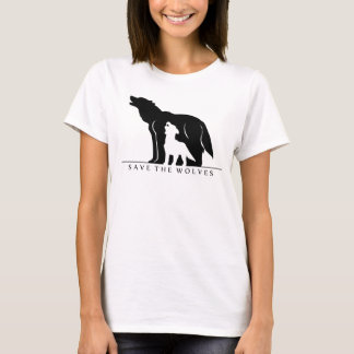 Save the Wolves (white ver.) T-Shirt